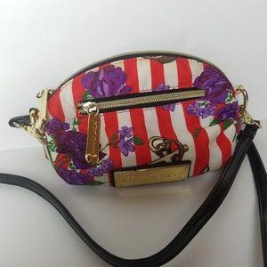 BETSEY JOHNSON crossbody mini bag anchor floral